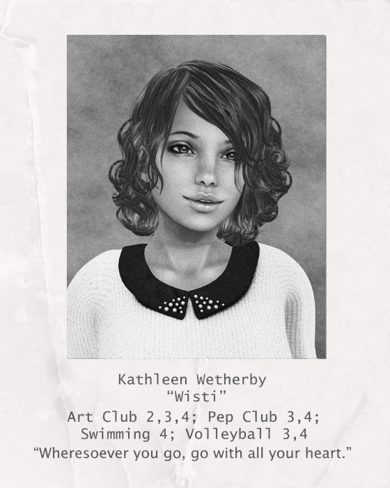 Wisti Wetherby Yearbook Photo